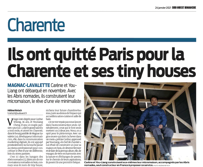 Sud-Ouest - Tiny house Sud Ouest Dimanche
