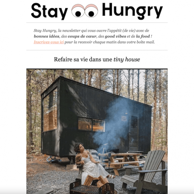 210223 Stay Hungry - Newsletter-Tiny_House-Micro_maison